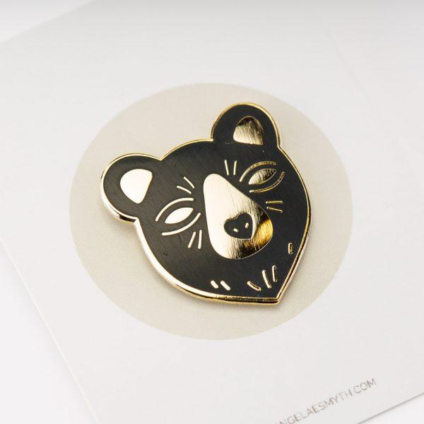 Enamel Bear Pin