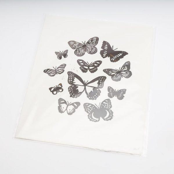 angela e smyth butterflies print
