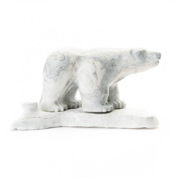 arctic canada alabaster polar bear