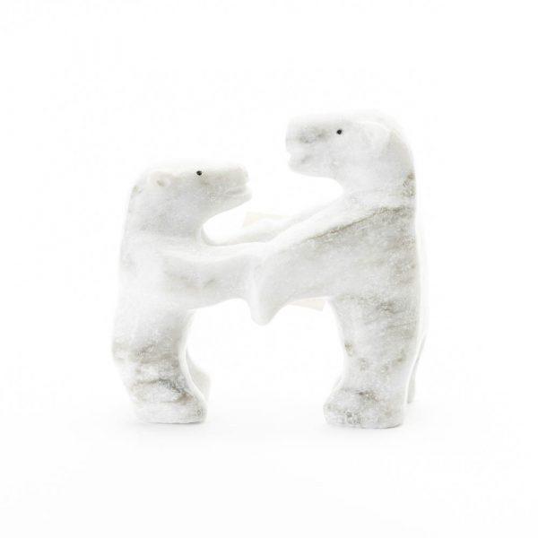 arctic canada alabaster stone bears