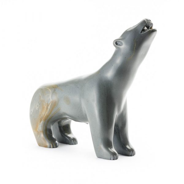 arctic canada soapstone wolf
