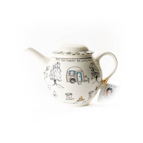 artables camping tea pot