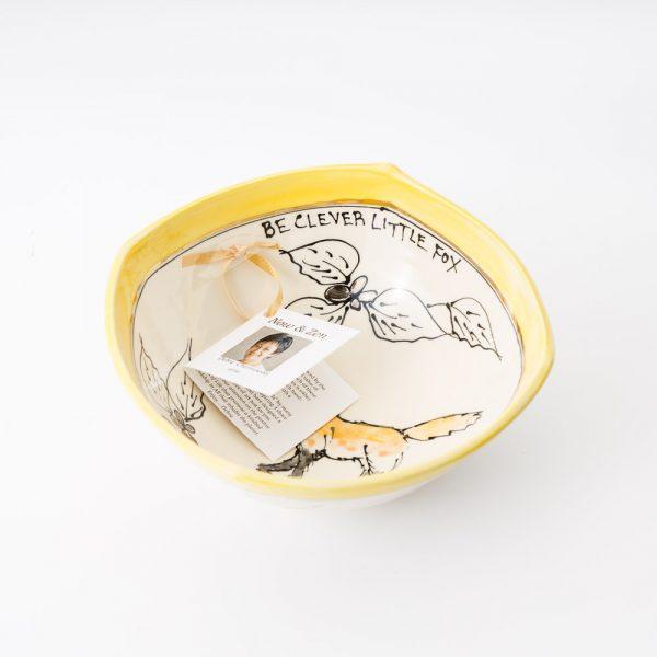 artables fox square bowl