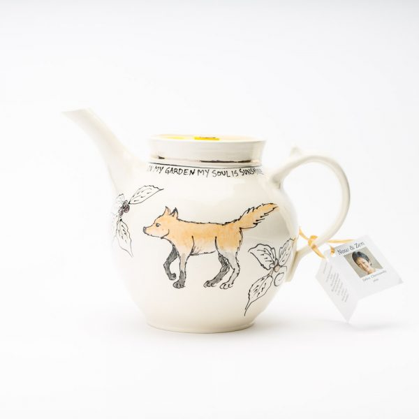 artables fox teapot