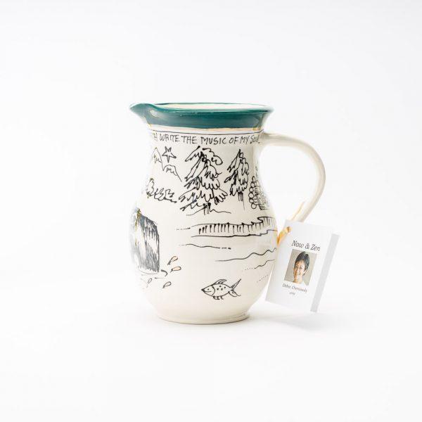 artables medium bear cottage jug