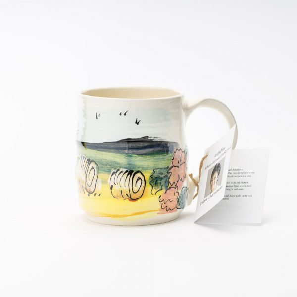 artables prairie scene mug