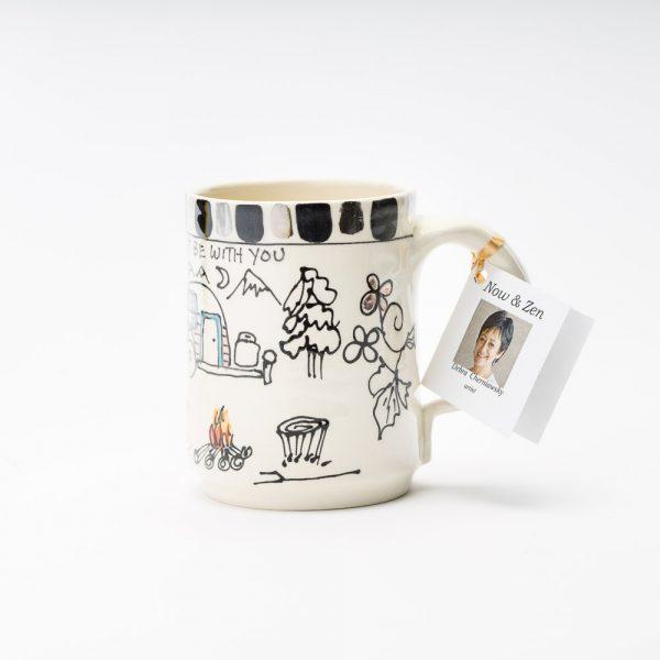 artables vintage camper mug