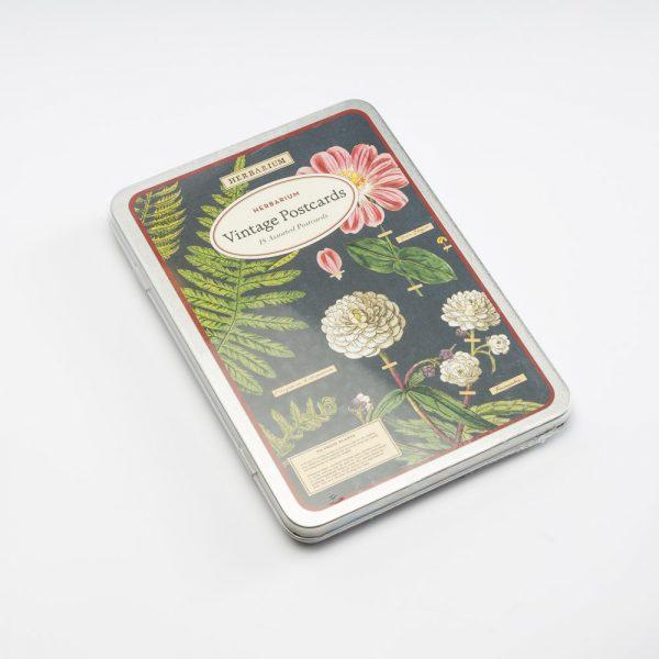 cavallini herbarium post cards