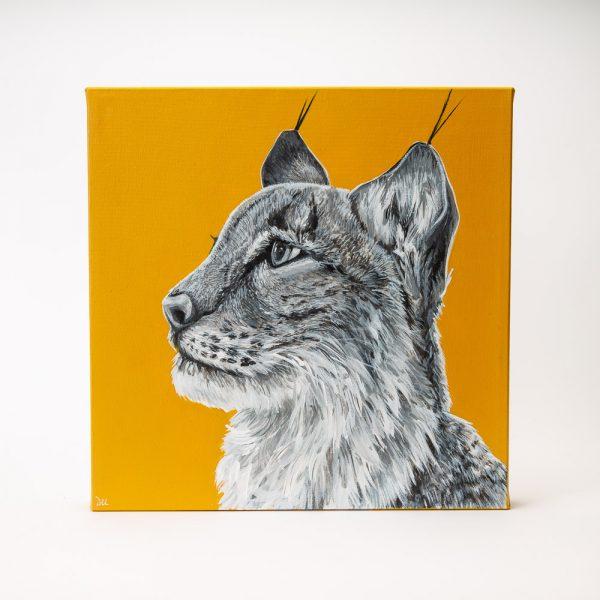 dallas larose lynx painting