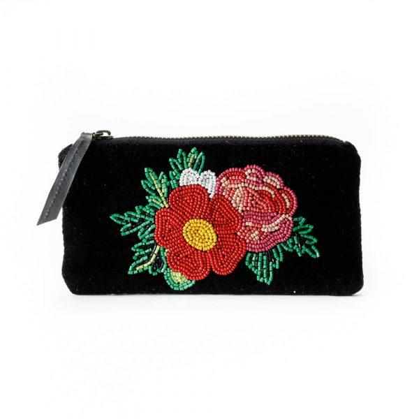 flower eye glasses pouch