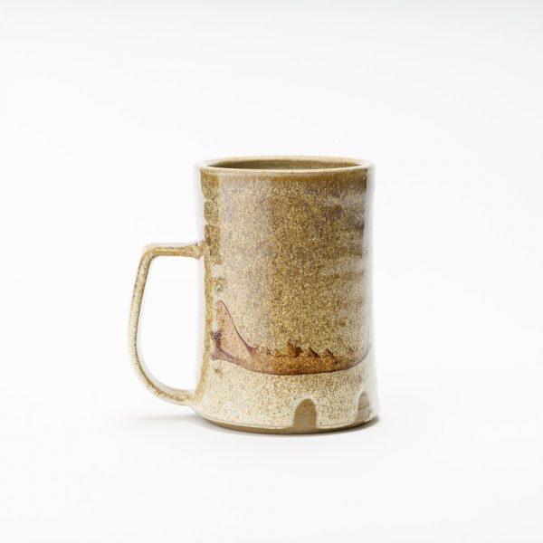 high country art coyote jawbone wide mug