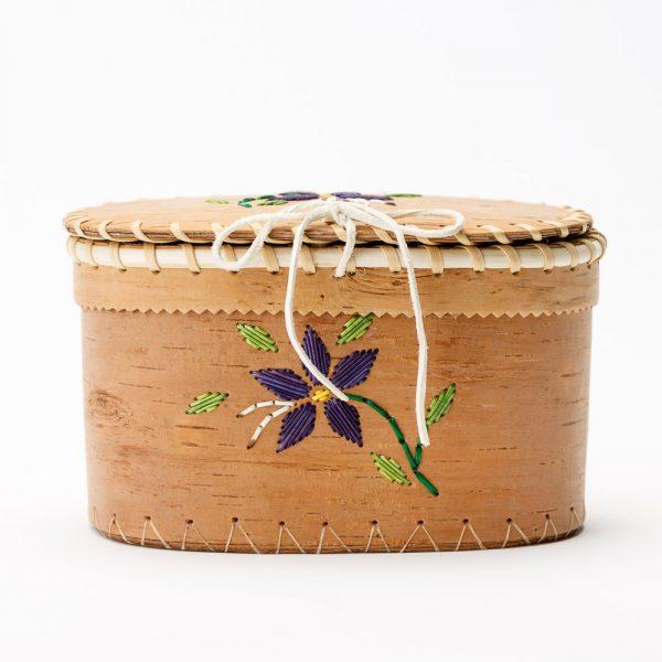 medium birch basket