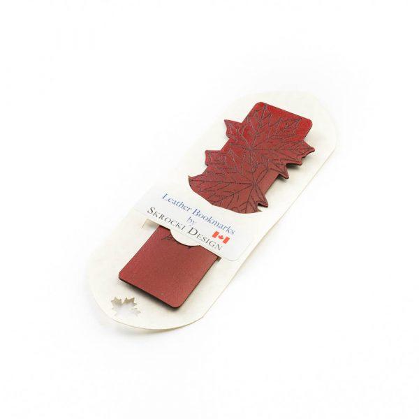 skrocki maple leaf bookmark