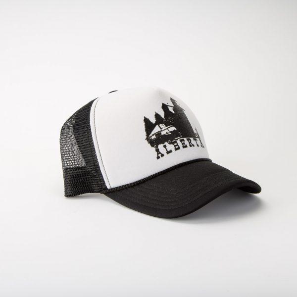 taco skate co alberta trucker hat