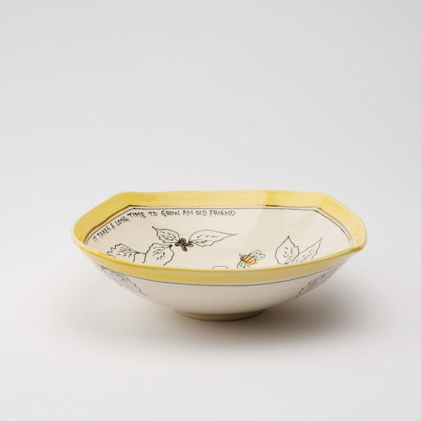 artables 12 honeybee bowl