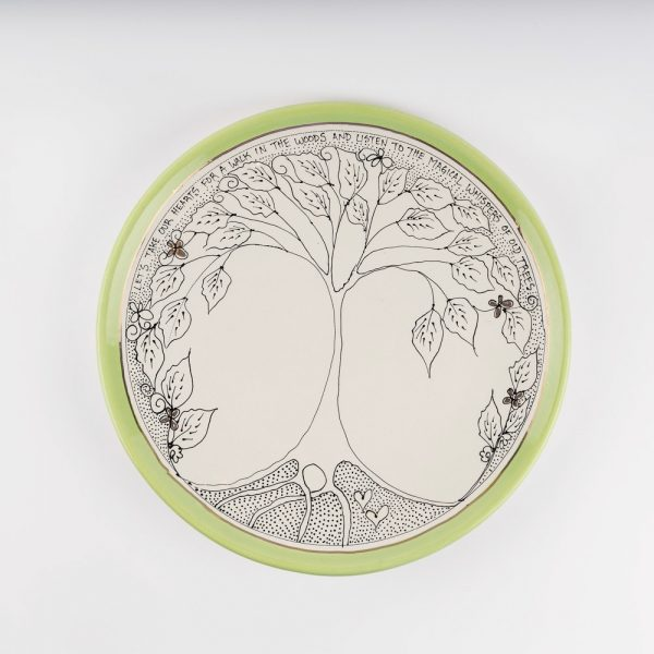 artables tree of life plate