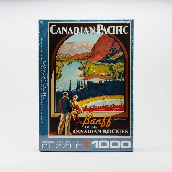 eurographics banff in the canadian rockies puzzle