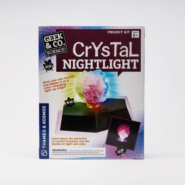 grow your own crystal night light