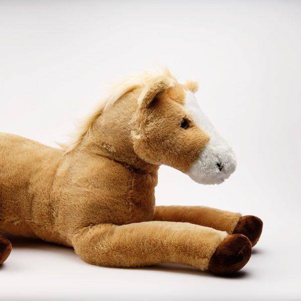 large butterscotch horse