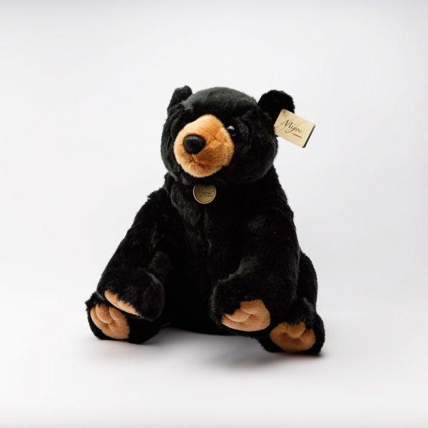 large sitting black bear
