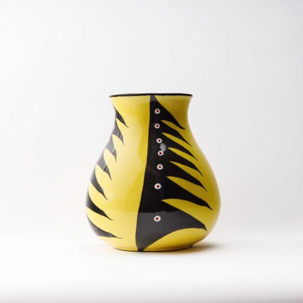 large water vase yellow