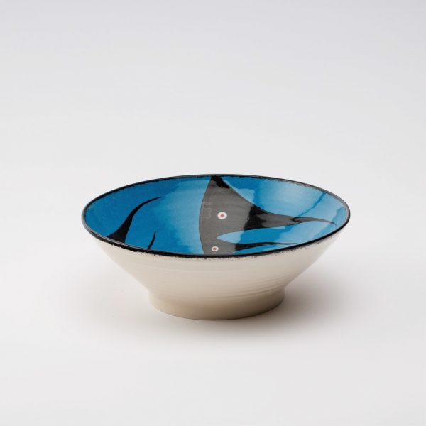 medium bowl blue