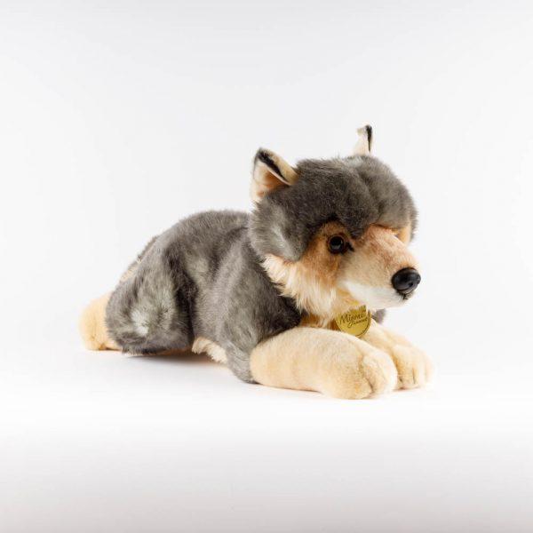 medium wolf plush