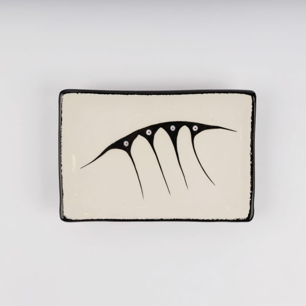rectangle plate white
