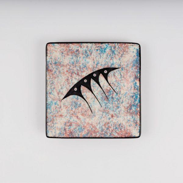 small square plate multi