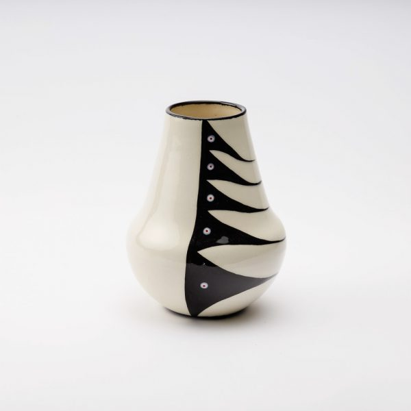 small water vase white