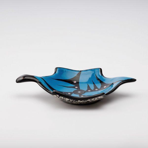 turtle dish blue