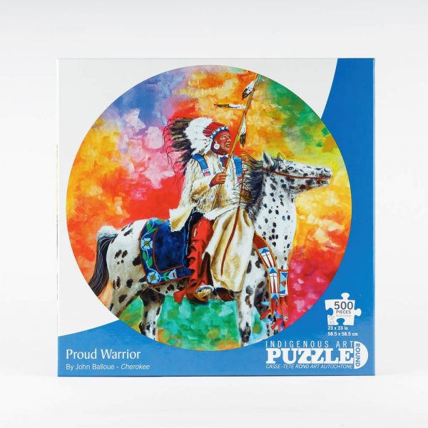 cap proud warrior puzzle