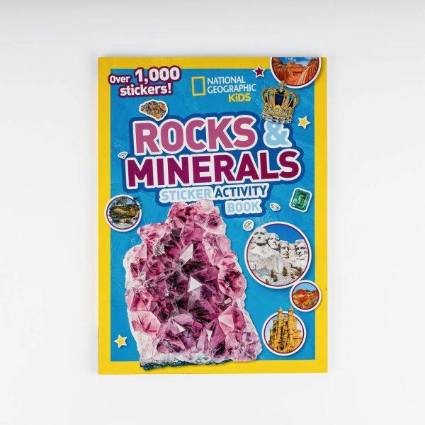 nat geo rocks and minerals stickers