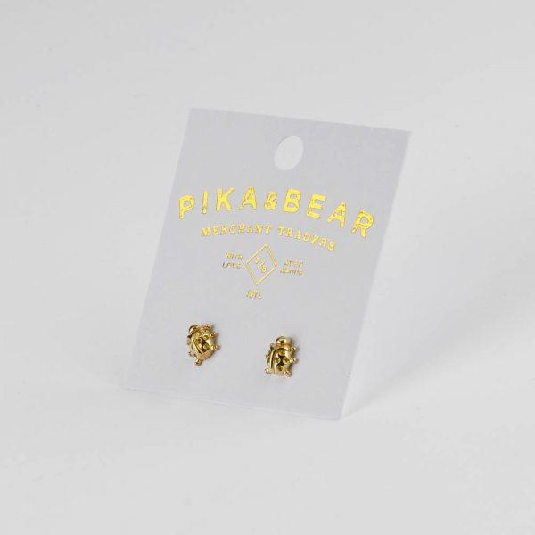 pb ladybug earrings