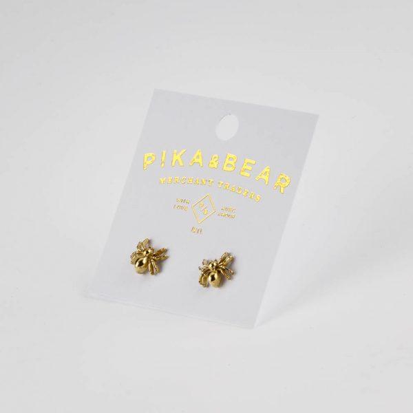pb tarantula earrings