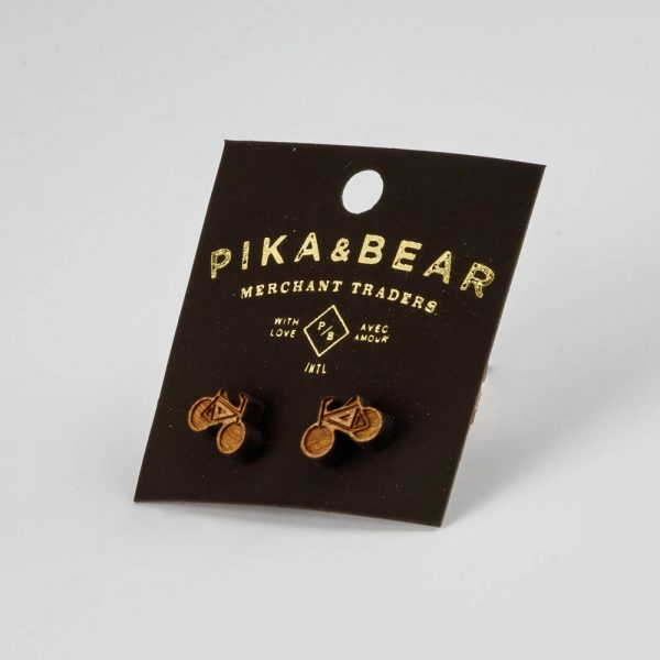 pb wooden bicycle studs