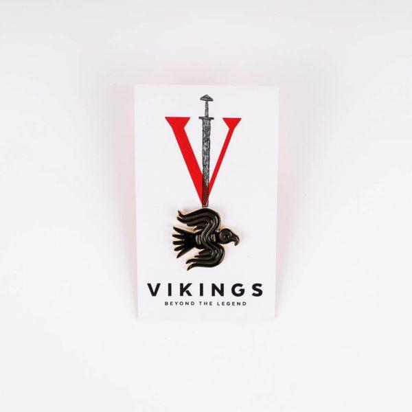 viking raven pin