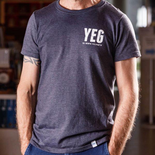 yeg coordinates t shirt