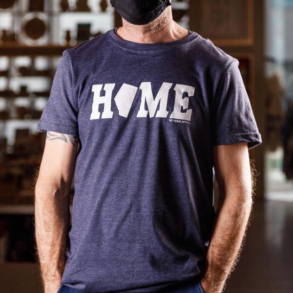 alberta home navy t shirt