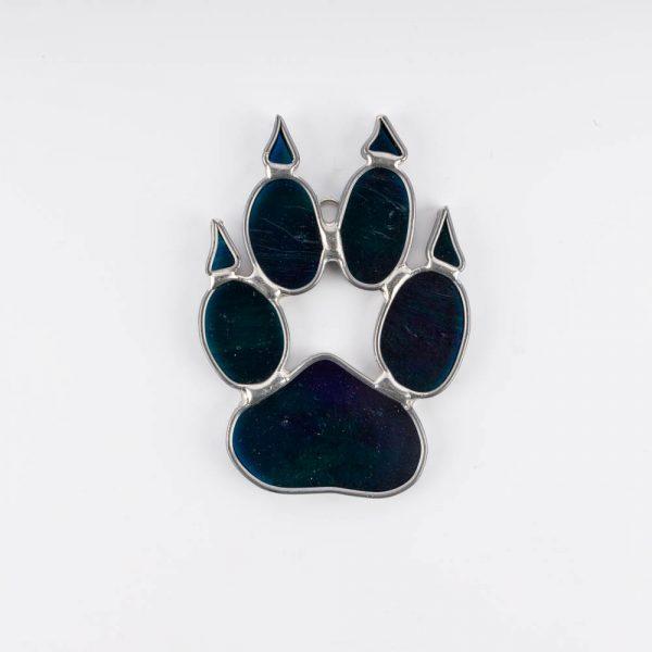 blue wolf footprint