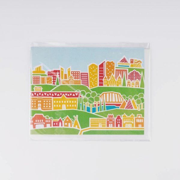 edmonton skyline card