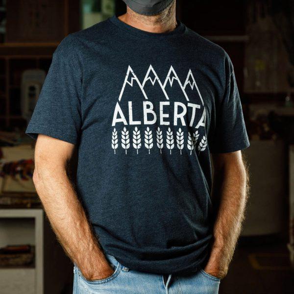 explore alberta t shirt