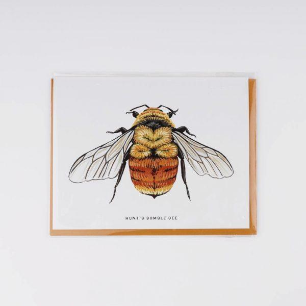 hunts bumble bee card
