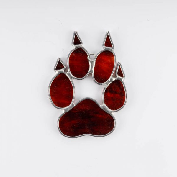 red wolf print