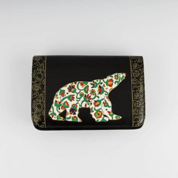 spring bear cross body purse