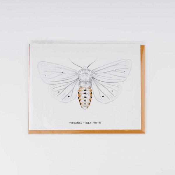 viriginia tiger moth card