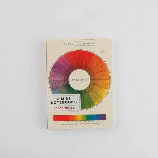 clour wheel notebooks
