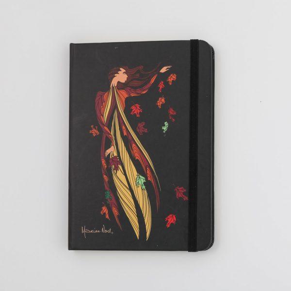 leaf dancer notebook