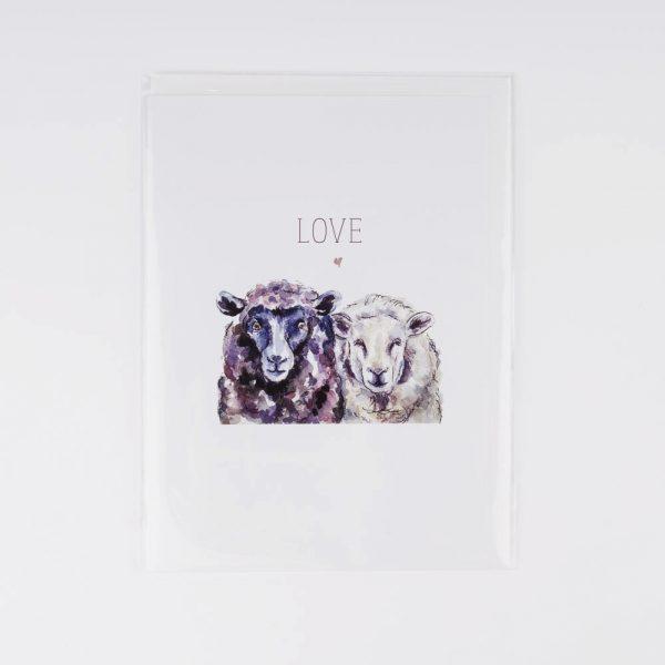 love sheep card