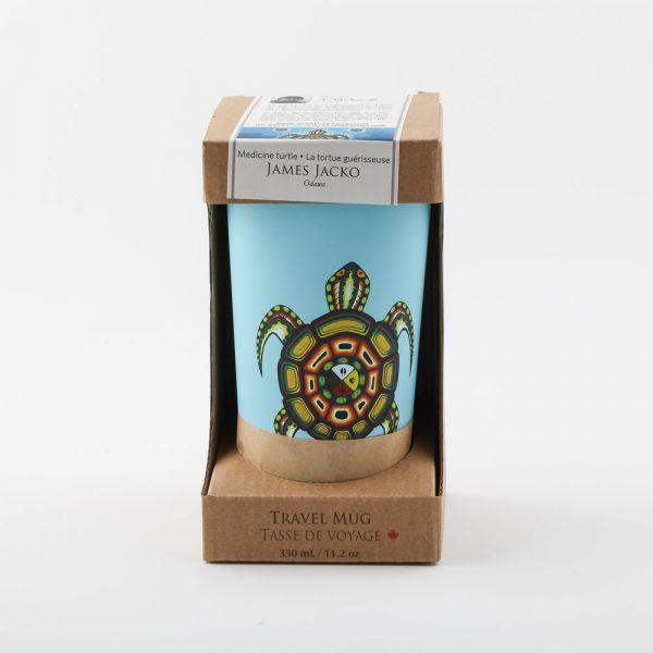 medicine turtle travel mug 1
